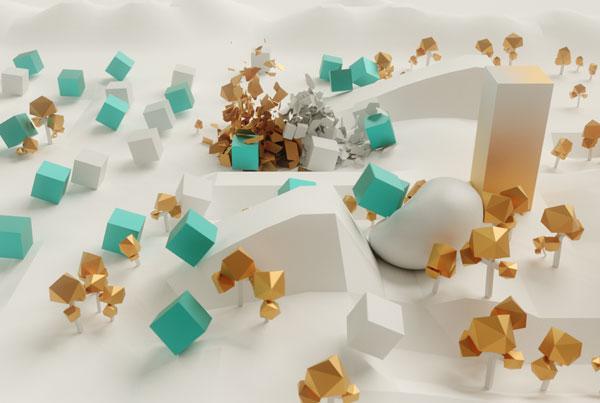 Cube invasion